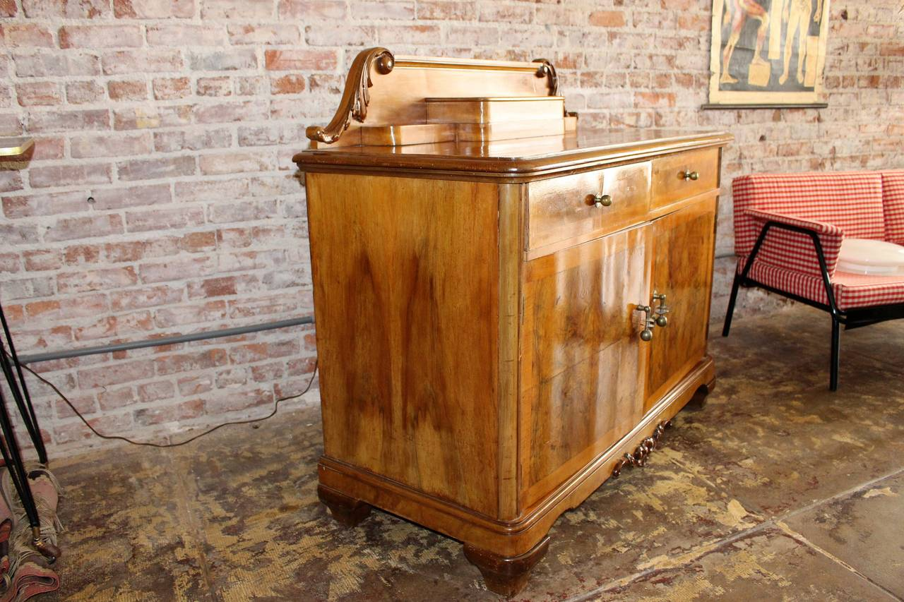 Austrian Art Deco Buffet In Excellent Condition For Sale In Los Angeles, CA