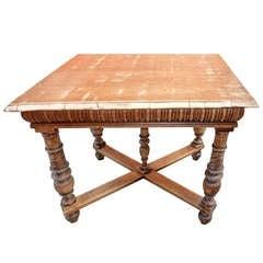 Italian Antique Library -Sofa  Table