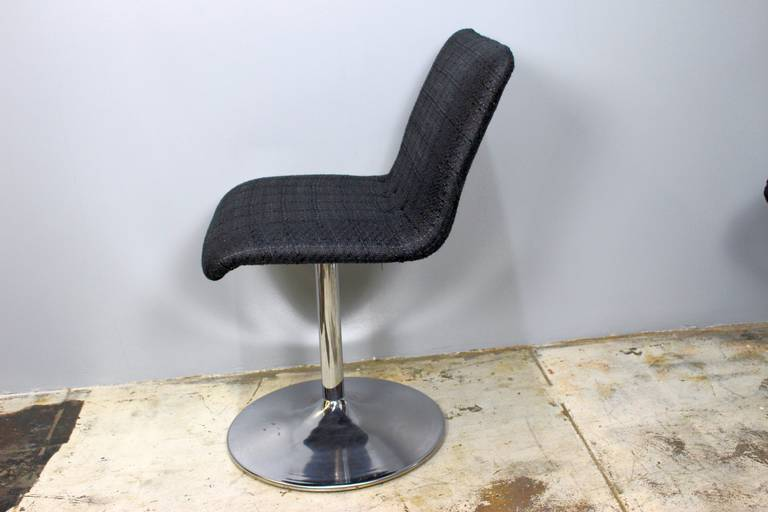 Six Italian Swivel Bar Stools in Style of Casteli In Good Condition For Sale In Los Angeles, CA