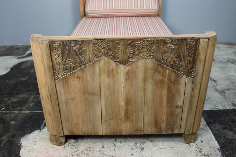 Wood French Art Deco Kid's Bed For Sale