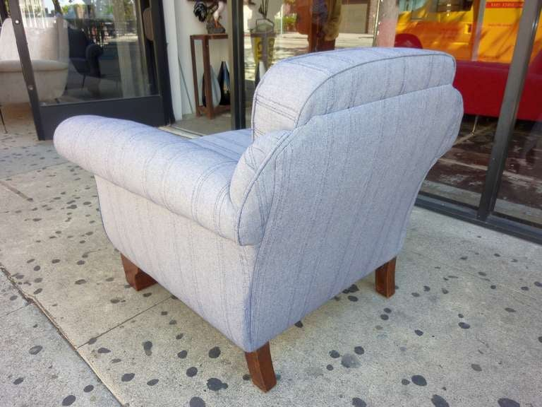 Mid-20th Century Art Deco Club Chair For Sale