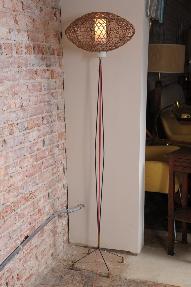 Original condition Italian floor lamp.  Pls note: Item is located at Beverly Store 7274 Beverly Blvd  Los Angeles, CA 90036