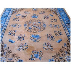 Antique Chinese Wool Carpet