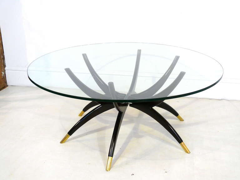 Kagan Style Spider Coffee Table At 1stdibs