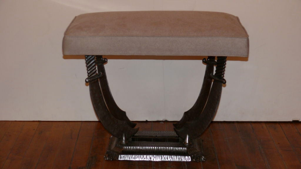 French Steel Sword Bench 6