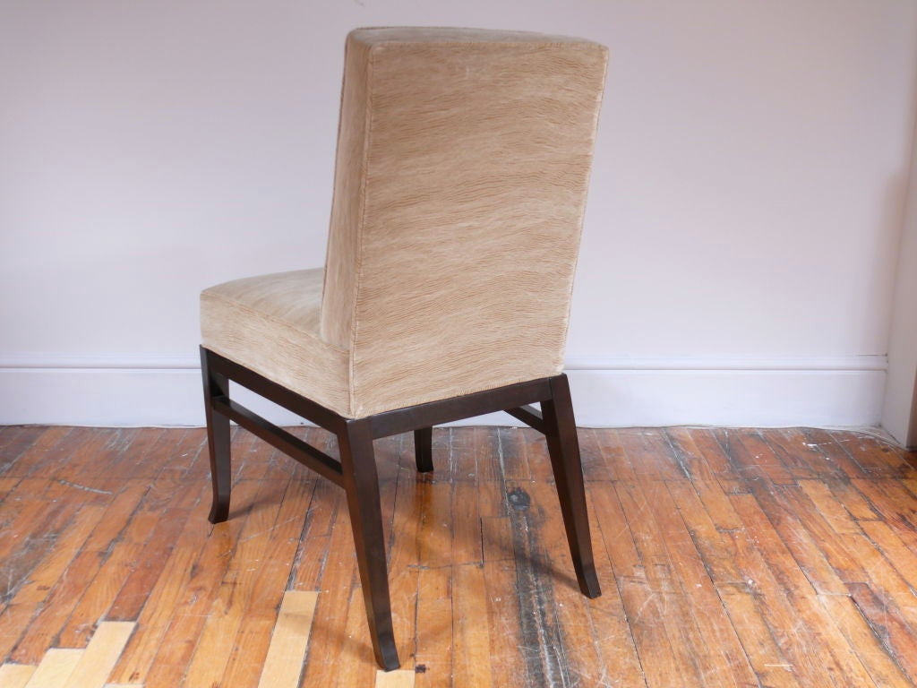 Walnut Pair of Midcentury Chairs For Sale