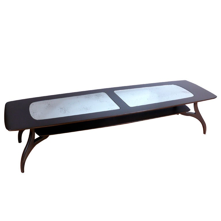 Kagan Style Coffee Table At 1stdibs