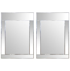 Pair of La Barge Mirror Framed Mirrors