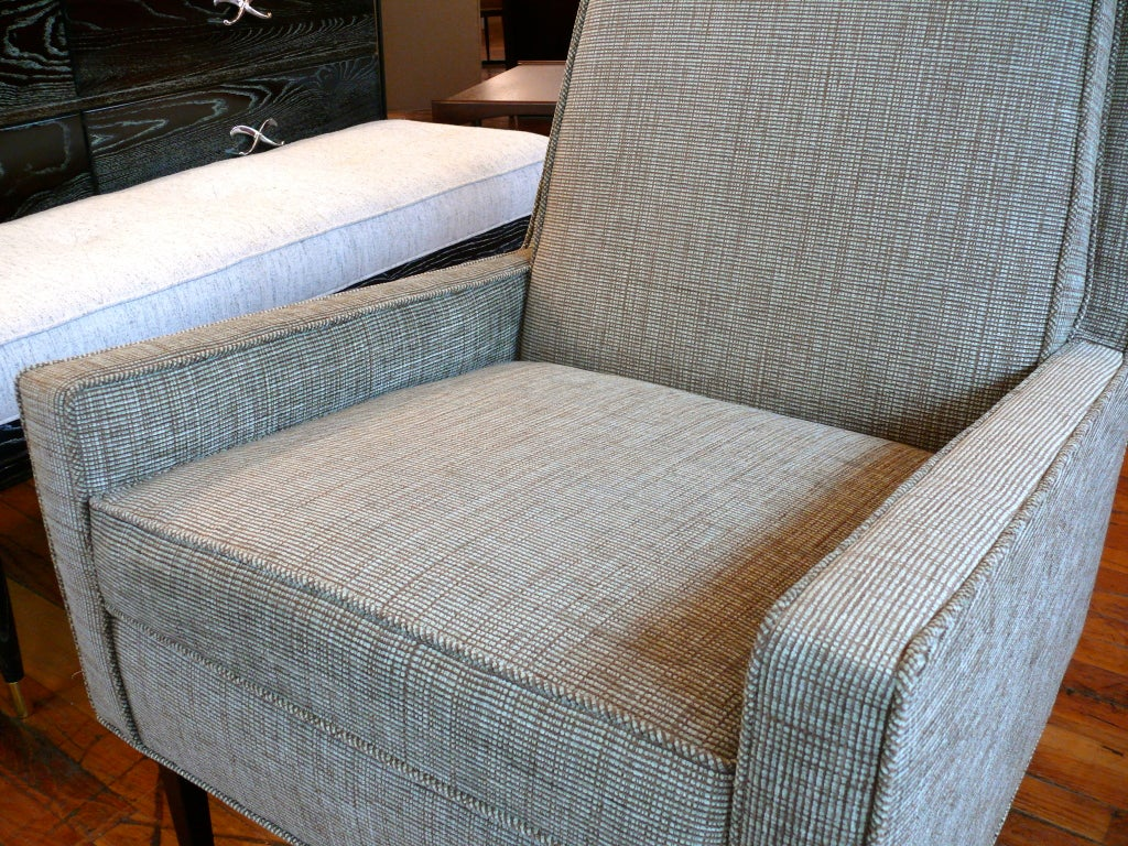 Mid Century Raised Back Lounge Chair 4