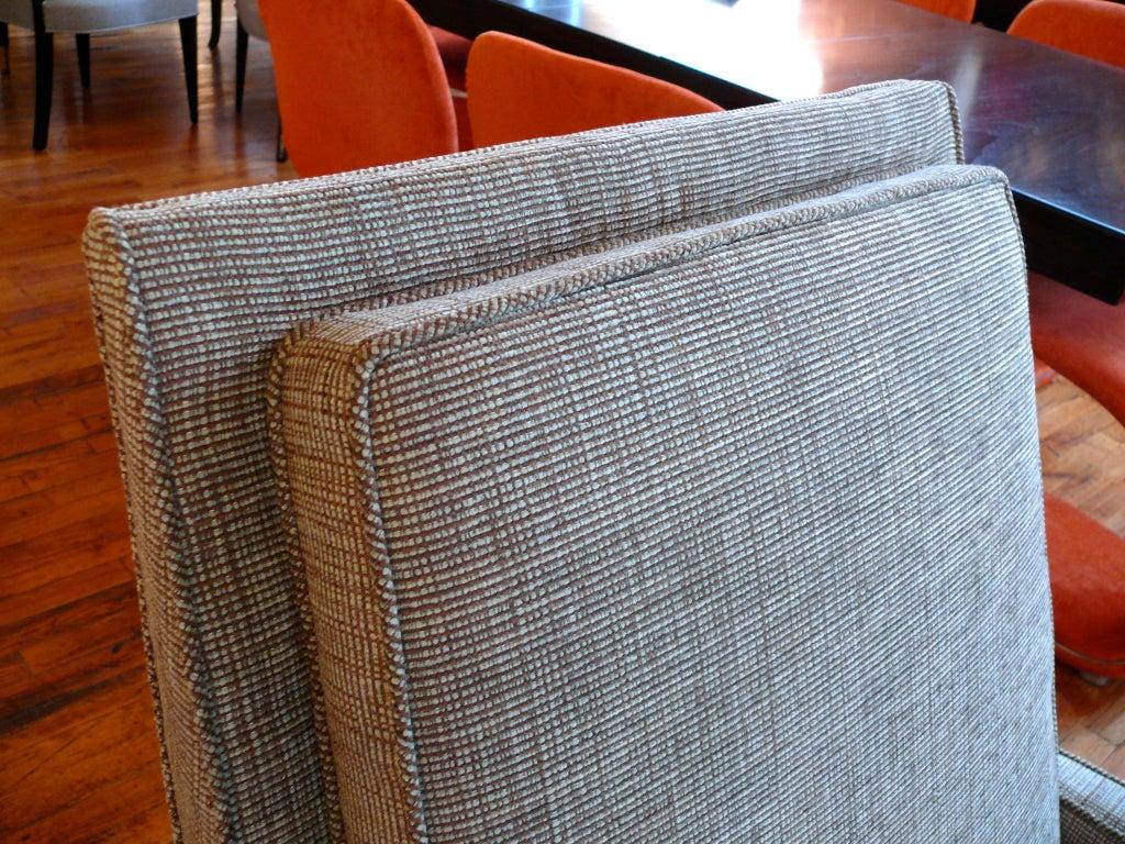 Mid Century Raised Back Lounge Chair 6