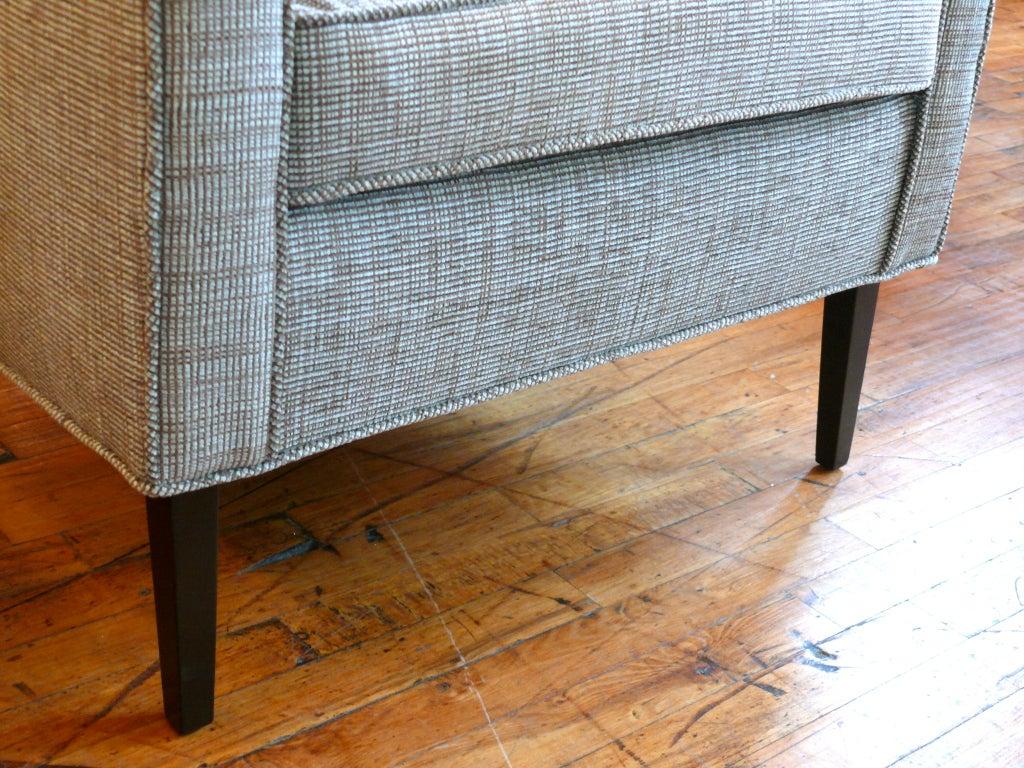 Mid Century Raised Back Lounge Chair 7