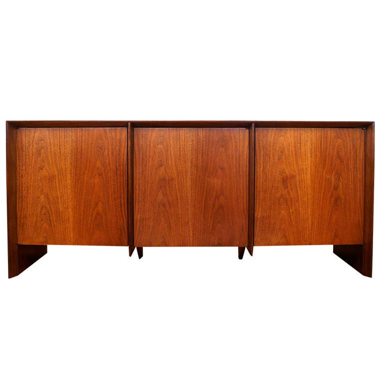 T.H. Robsjohn-Gibbings Three-Door Credenza 1