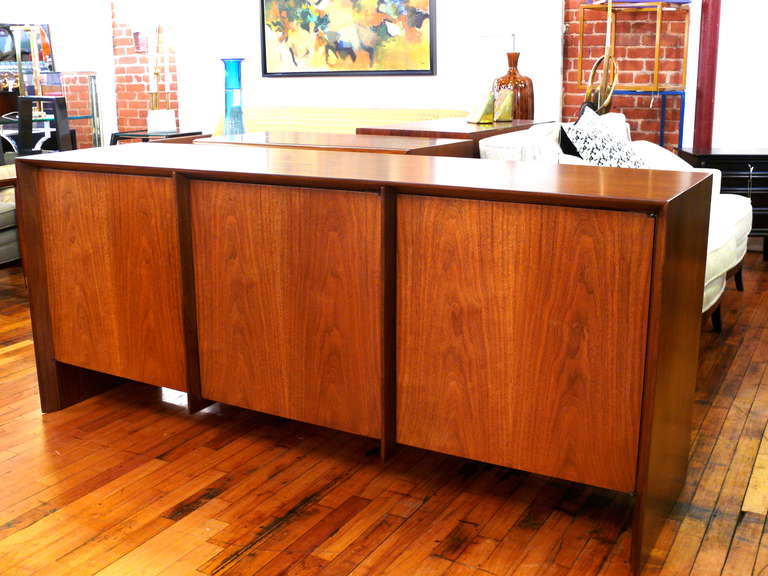 T.H. Robsjohn-Gibbings Three-Door Credenza 2