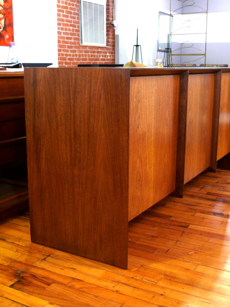 T.H. Robsjohn-Gibbings Three-Door Credenza 5