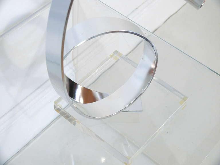 20th Century Dan Murphy Ribbon Sculpture For Sale