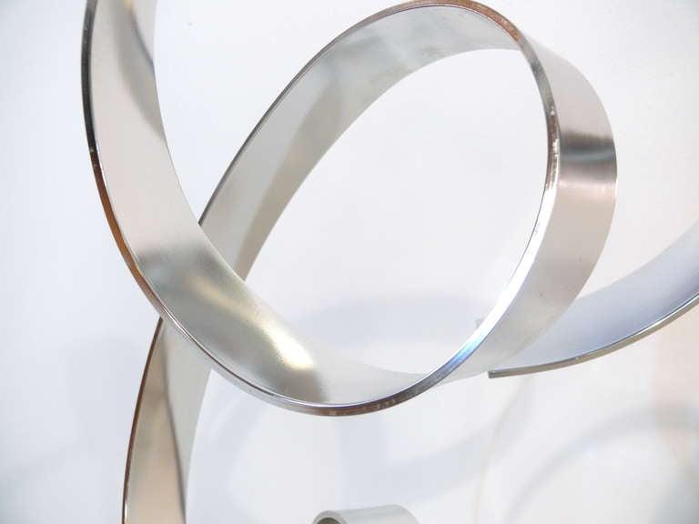 Dan Murphy Ribbon Sculpture For Sale 1