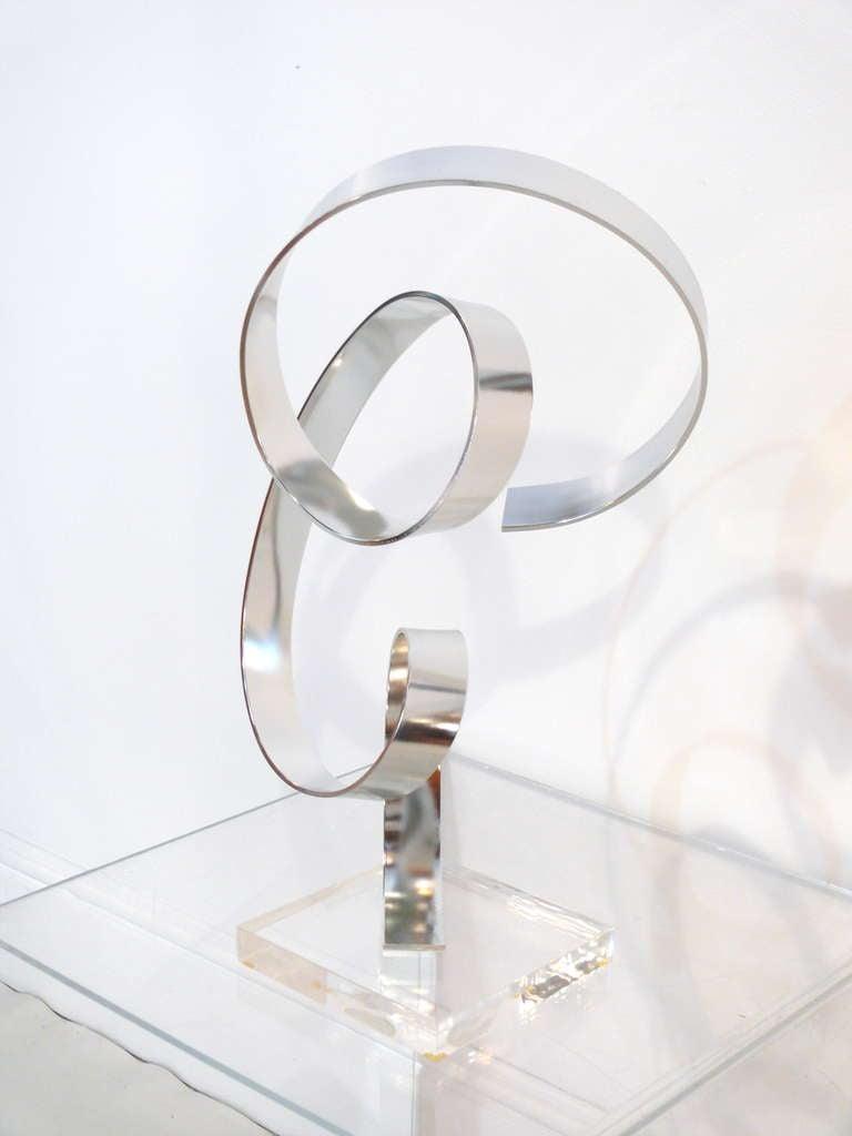 American Dan Murphy Ribbon Sculpture For Sale