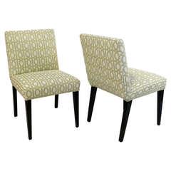 Pair of T.H. Robsjohn-Gibbings Slipper Chairs