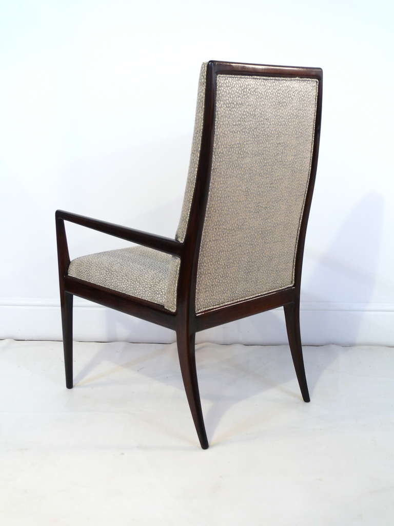 Pair of Highback Armchairs after T.H. Robsjohn-Gibbings 6