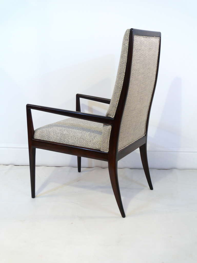 Pair of Highback Armchairs after T.H. Robsjohn-Gibbings 5