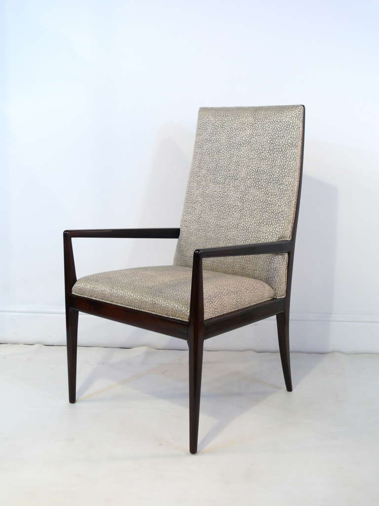 Pair of Highback Armchairs after T.H. Robsjohn-Gibbings 3