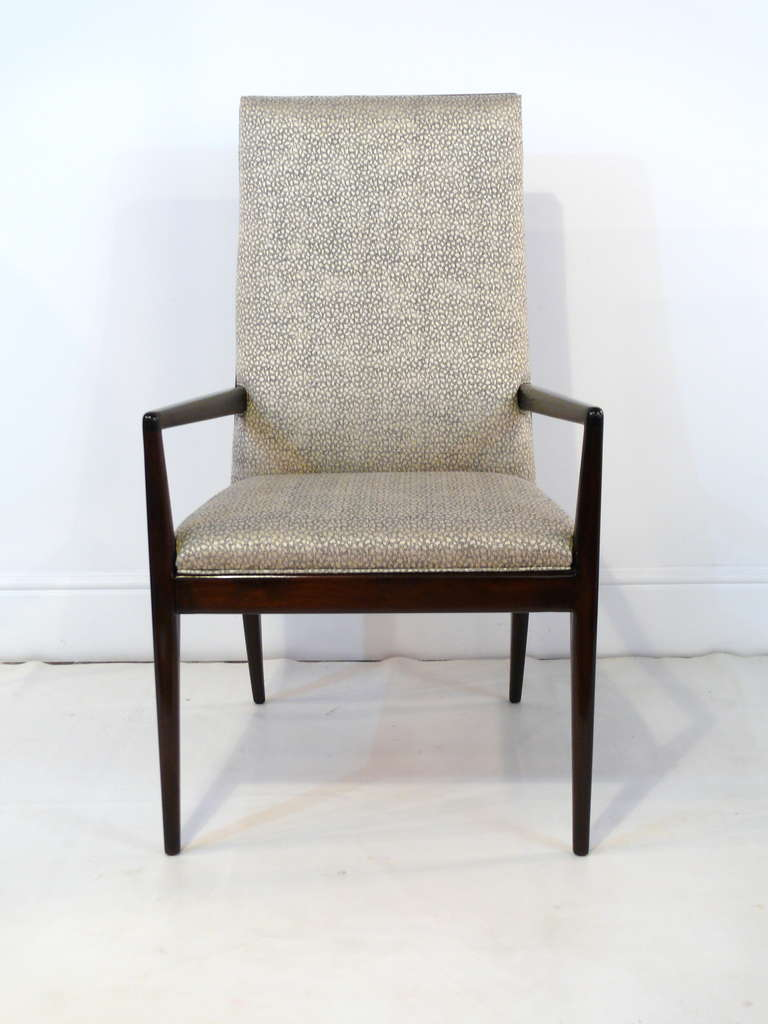 Pair of Highback Armchairs after T.H. Robsjohn-Gibbings 2