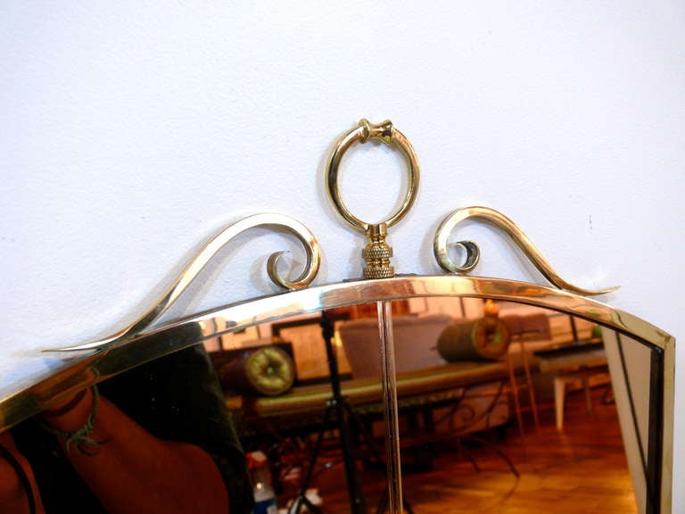 Fontana Arte Style Mirror For Sale 1