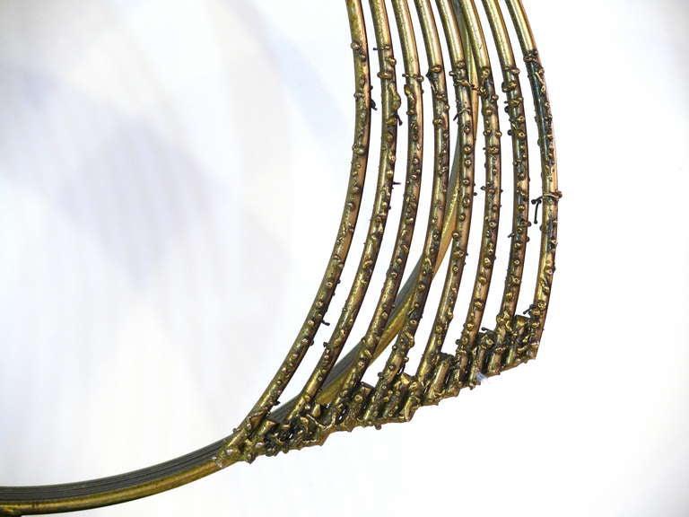 Curtis Jere 'Windswept' Brass Sculpture For Sale 1