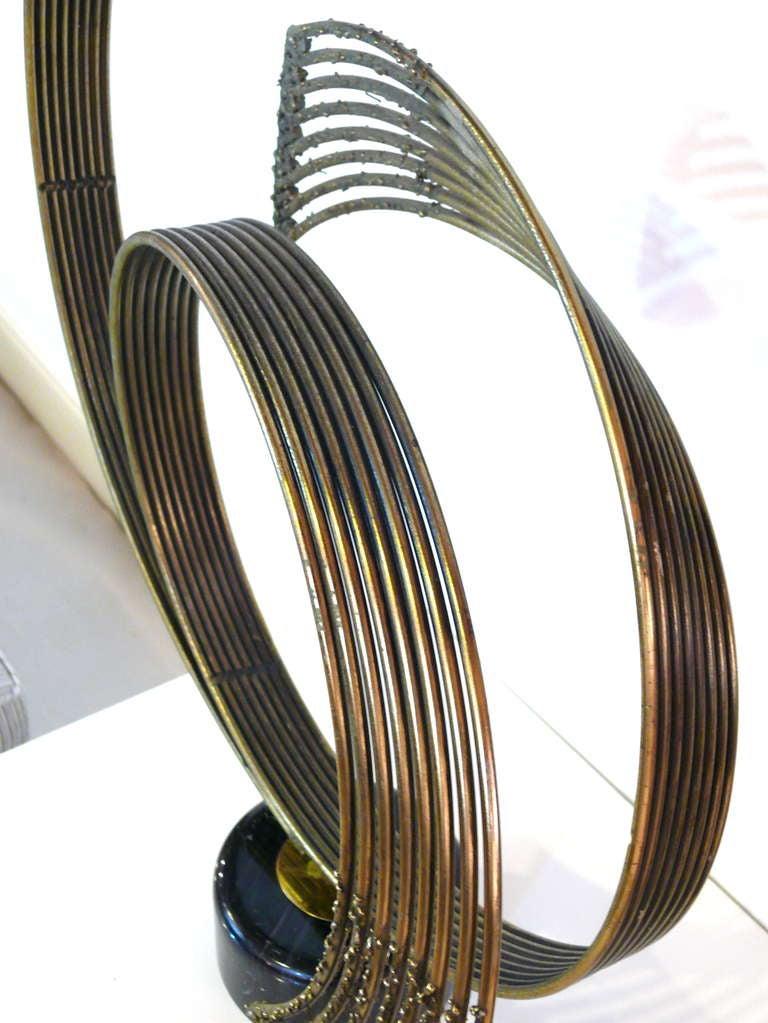 Curtis Jere 'Windswept' Brass Sculpture For Sale 2