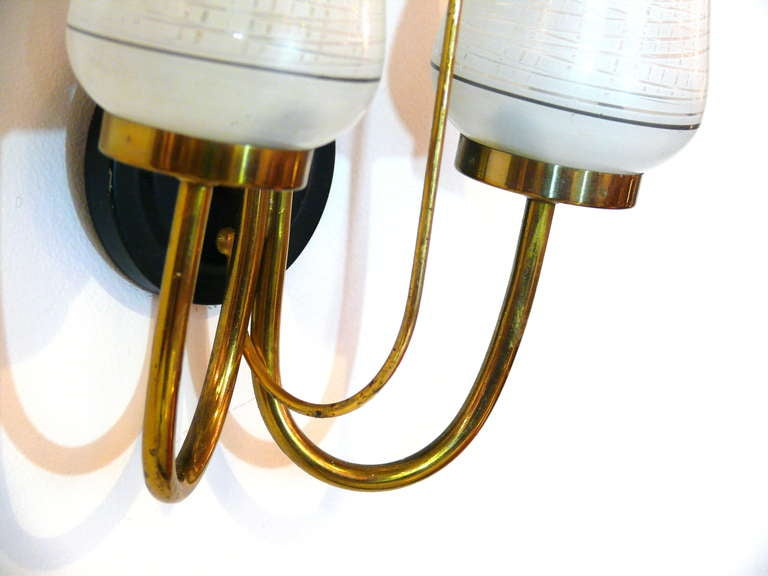 Pair of French Royere Style Sconces 8
