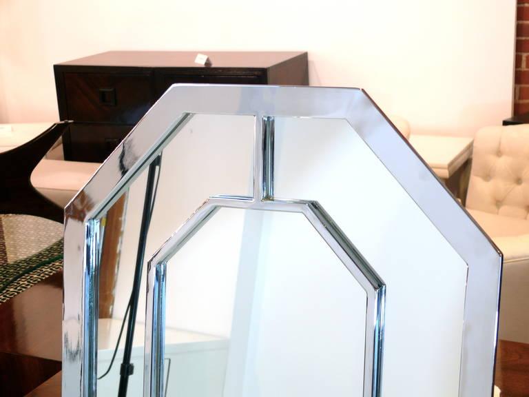 Baughman Style Octagon Mirror 8