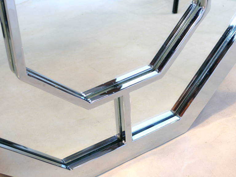Baughman Style Octagon Mirror 4