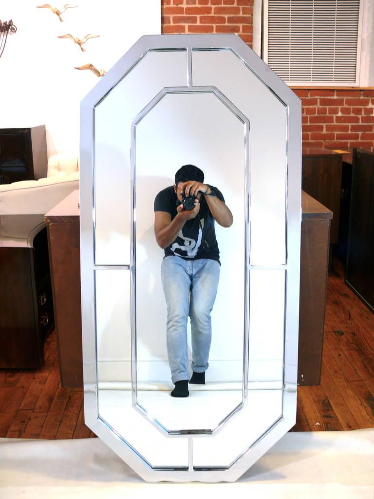 Baughman Style Octagon Mirror 2