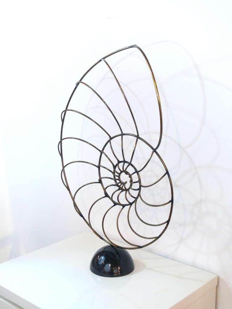 Curtis Jere Nautilus Sculpture 6