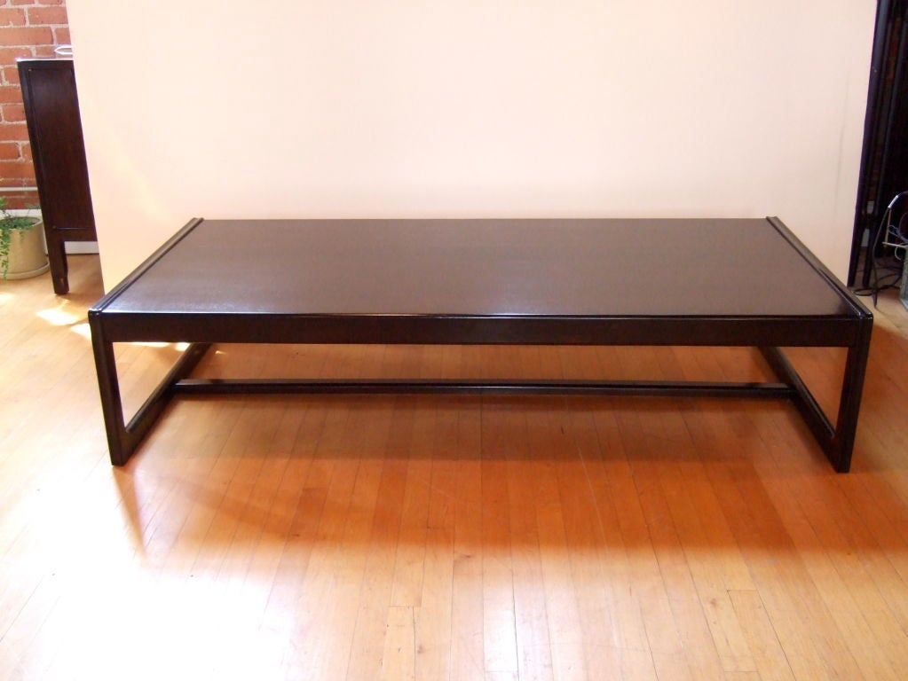 Xl Classic Modern Coffee Table At 1stdibs