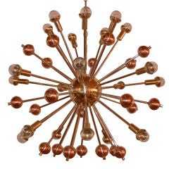 Tri Tone Sputnik Chandelier