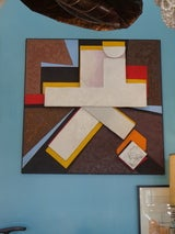 Large Scale Modernist Collage Signed Gerard image 4