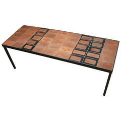 Garrigue Series Coffee Table by Roger Capron, 1960s