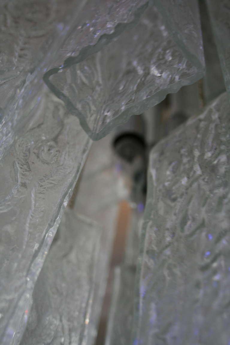 Venini Tronchi Glass Chandelier 5
