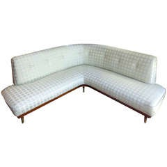Italian L Shaped Sofa