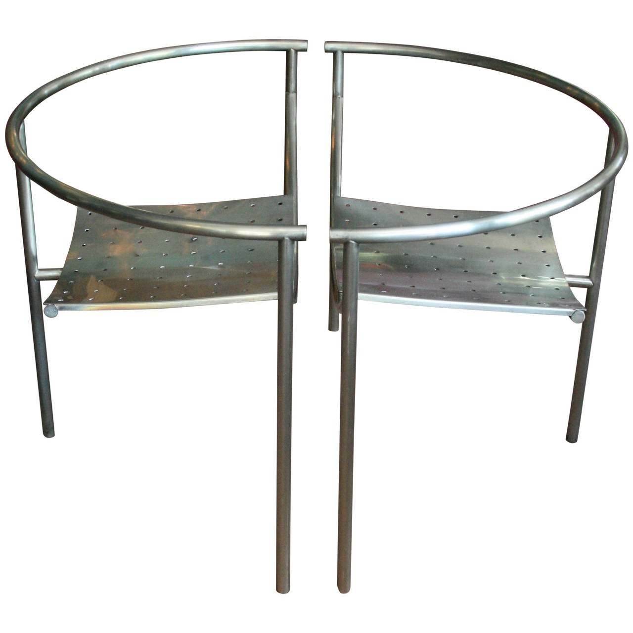 Pair of original dr sonderbar chairs by philippe starck at 1stdibs - Chaises philippe starck ...