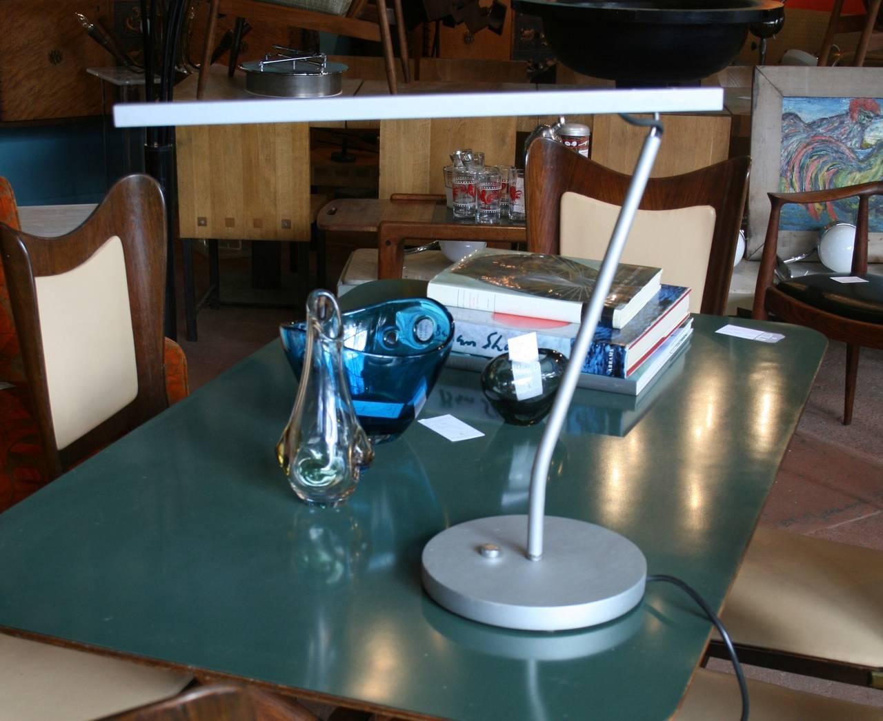 Original 1997 Production Of Belgian Designer Maarten Van Severen BA11 Desk  Lamp Produced By Uline.