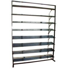 Large Scale Jean Prouve Steel Shutters Room Divider