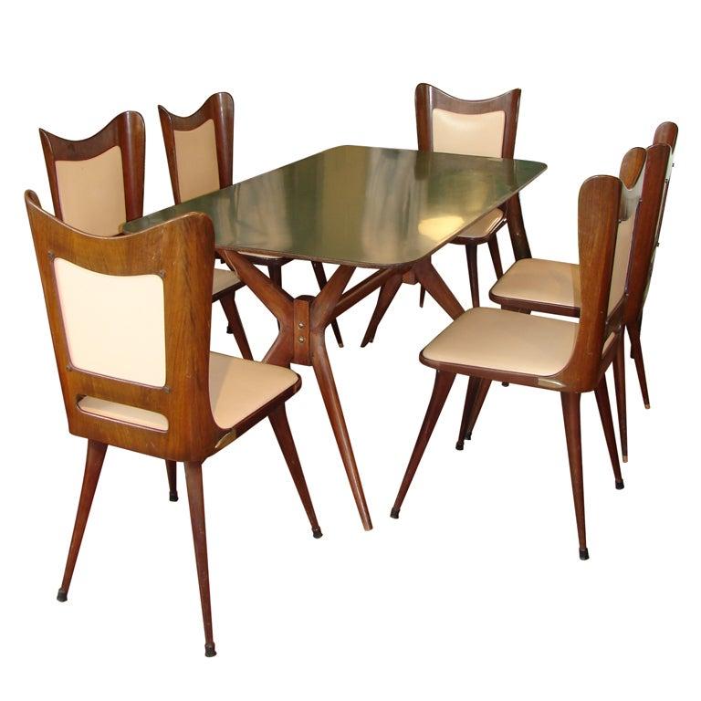 Italian Dining Set at 1stdibs