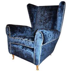 Sculptural Club Chair