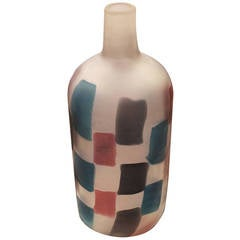 "Fulvio Bianconi ""Pezzato"" Vase for Cenedese, Italy, 1950s"