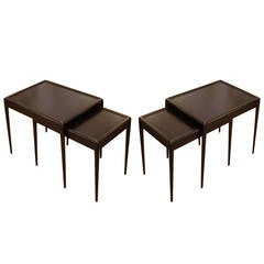 Pair of Robsjohn-Gibbings Nesting Tables, USA, 1950s