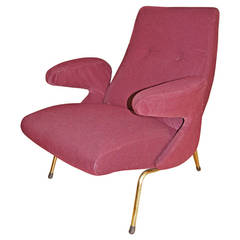 """Carboni for Arfles """"Dolphin"""" Lounge Chairs"""
