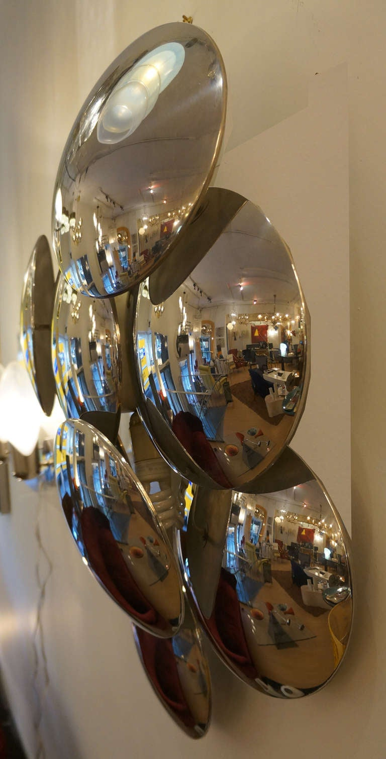 Whimsical Reggiani Wall Lighting Sculpture Or Ceiling