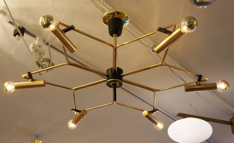 star shaped lighting. shallow starshaped chandelier italy 1950s 2 star shaped lighting